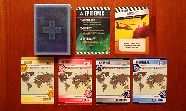 Image result for pandemic legacy  infection deck