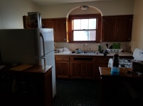 Kitchen; I like the double counters/stands